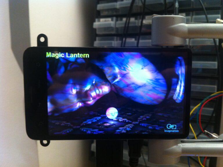 3D rendering by PVR SGX on BeagleBone