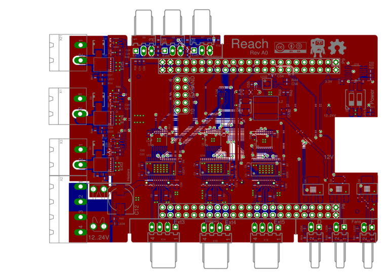 Reach expansion board for Replicape ready for review